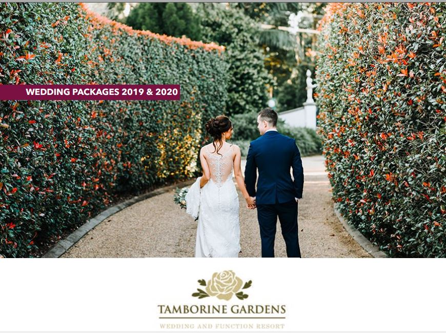 Gold Coast Wedding Packages
